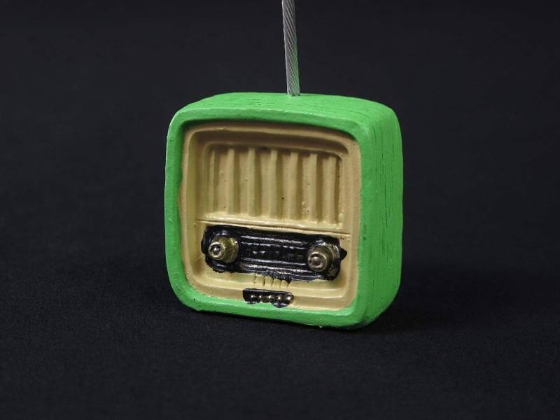 Porte nom Radio - Thème Rétro