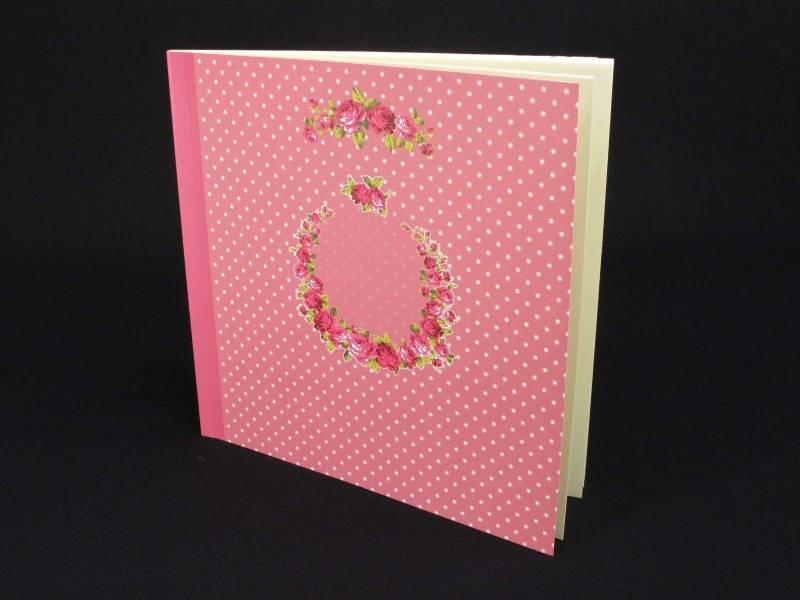 Livre d'or Mariage Romantique couleur Rose - 50 pages