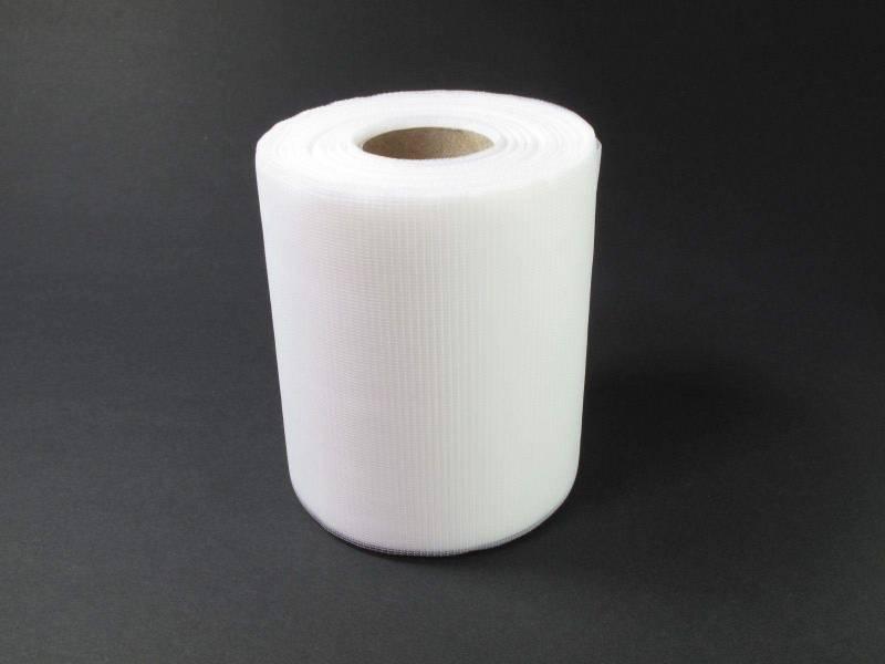 10cm Rouleau de Tulle - Blanc