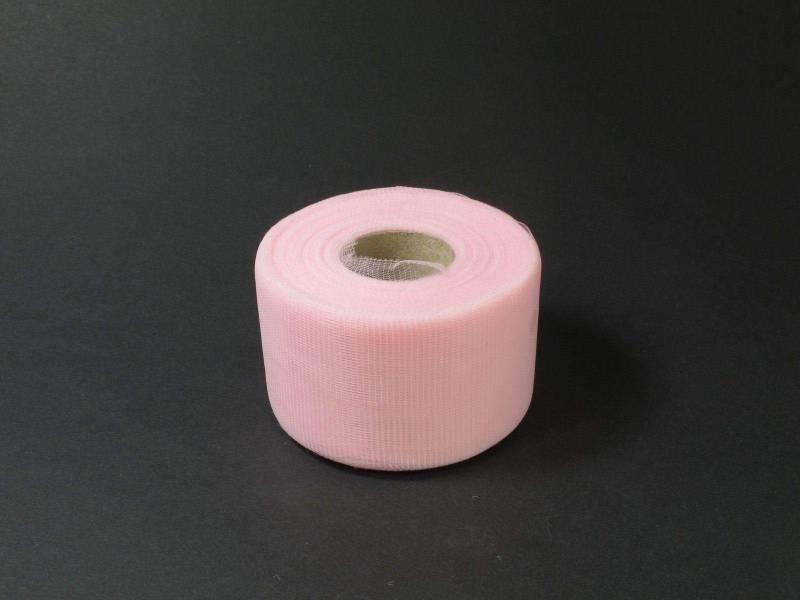5cm Rouleau de Tulle - Rose