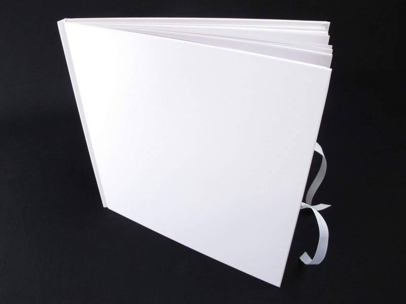 Livre d'or Mariage Blanc de 34 pages - 25x25cm
