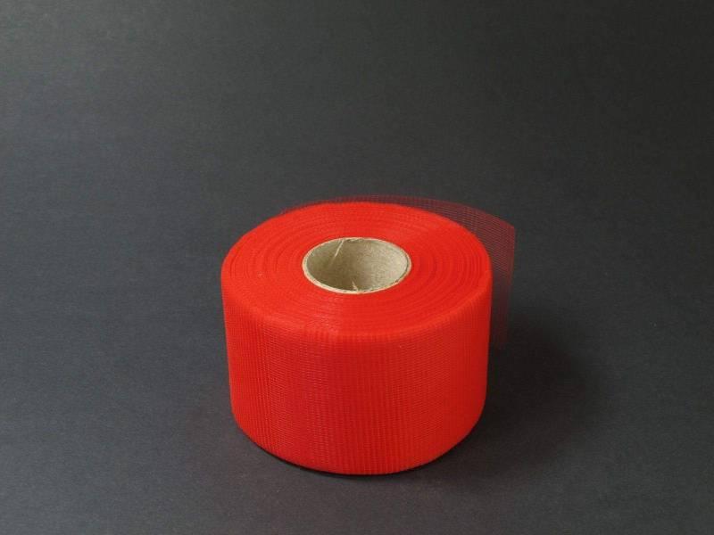 5cm Rouleau de Tulle - Rouge