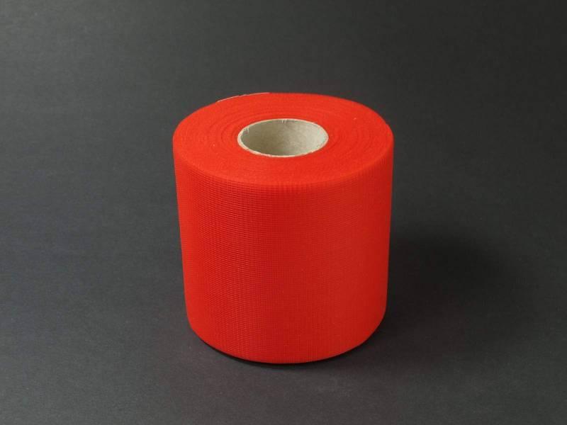 8cm Rouleau de Tulle - Rouge