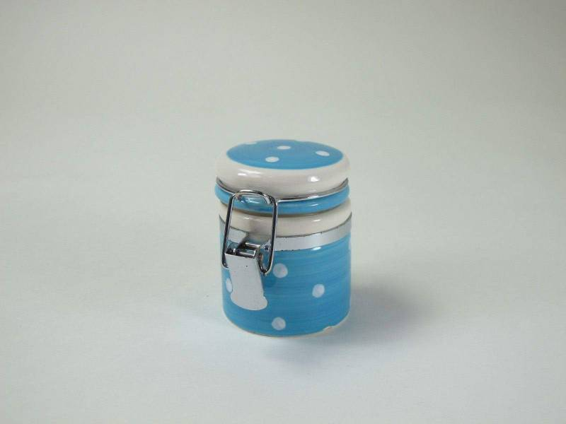 FS Pot à pois - Turquoise