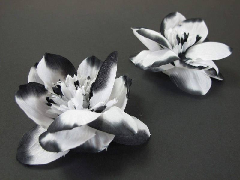 Fleur de lotus - Noir