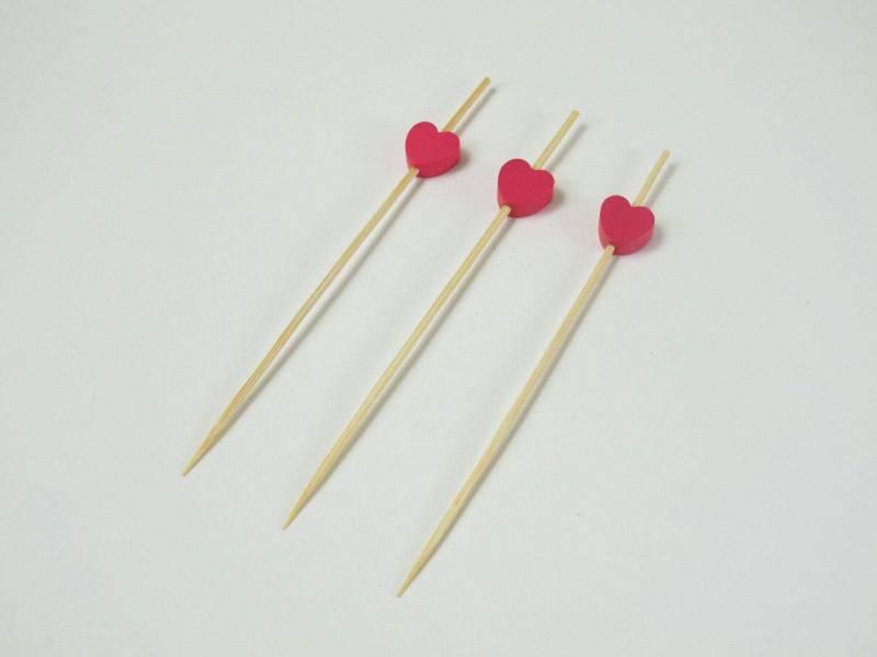 Coeur sur pique - Fuchsia