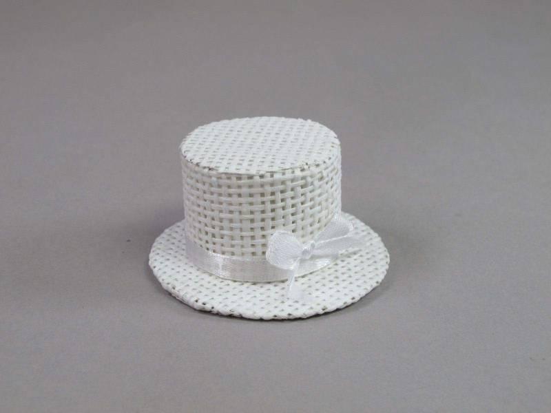Chapeau panier - Blanc