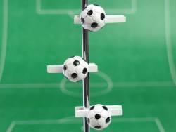 Ballon de foot sur pince - Blanc