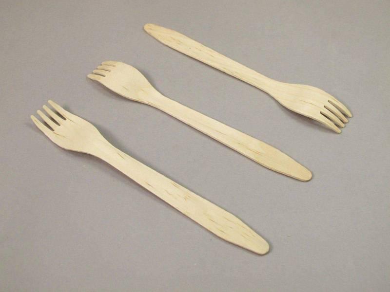 Fourchette en bois