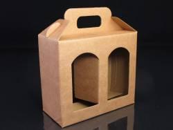 Boite en carton rigide - 2 pots de confiture 14cm