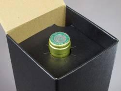 Boite magnum - Cuir Noir 11,5x11,5x43cm