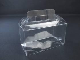 Boite alimentaire - Valisette confiserie PVC 18x9x10cm