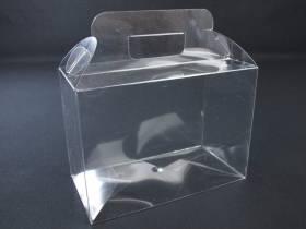Boite alimentaire - Valisette confiserie PVC 18x9x13cm