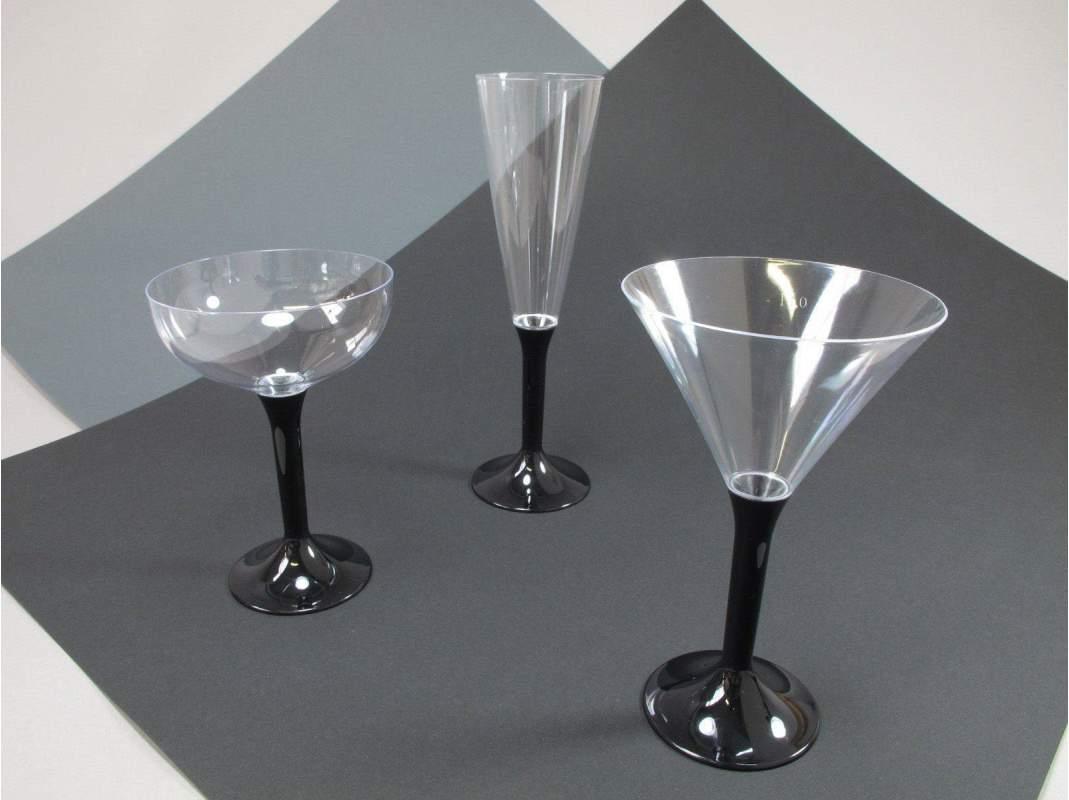 coupe champagne sans pied transparent decofete. Black Bedroom Furniture Sets. Home Design Ideas
