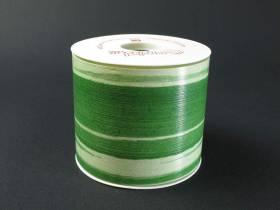 Ruban aspect végétal 103mm - Vert Nil