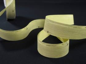 Bobine ruban papier motif planche -  2,5cm