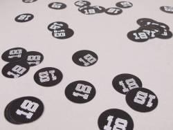 Confetti de table VIP 18 ans