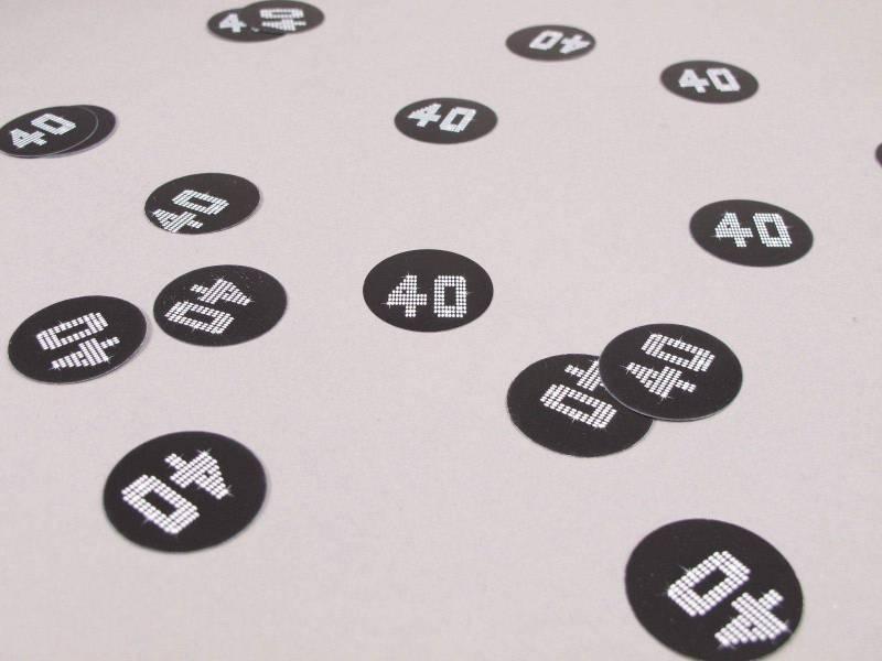 Confetti de table VIP 40 ans