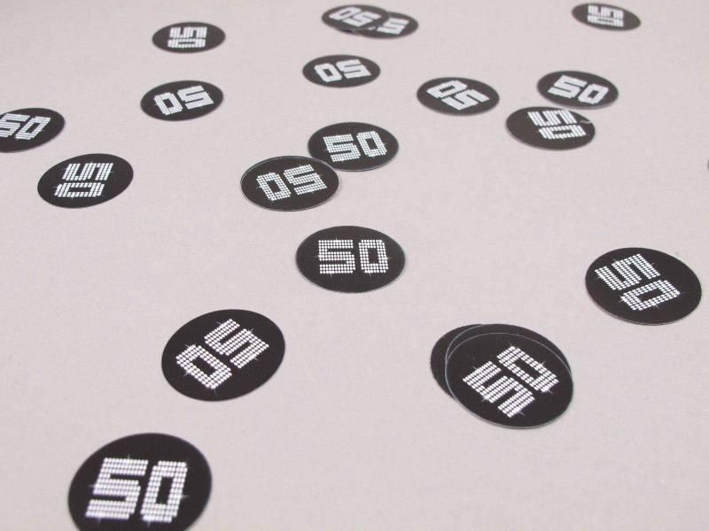 Confetti de table VIP 50 ans