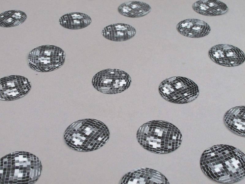 Confetti de table boule disco