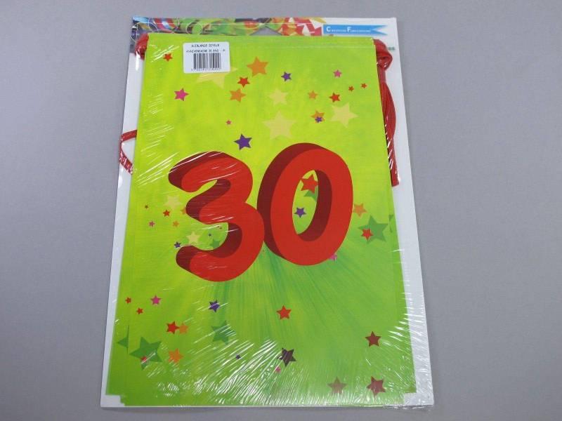 Guirlande anniversaire - 30 ans