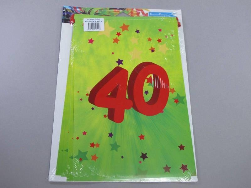 Guirlande anniversaire - 40 ans