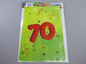Guirlande anniversaire - 70 ans