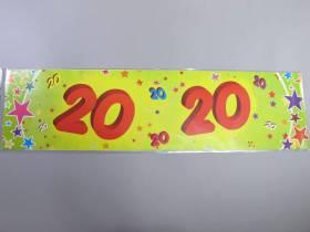 Banderole anniversaire - 20 ans