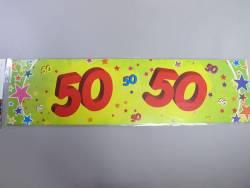 Banderole anniversaire - 50 ans