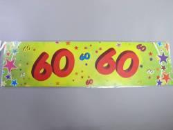 Banderole anniversaire - 60 ans