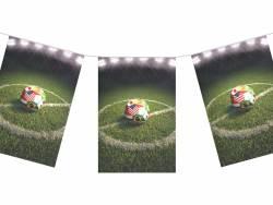 Guirlande papier terrain de foot