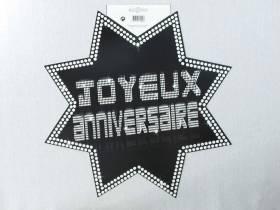 Découpe étoile VIP - Joyeux Anniversaire