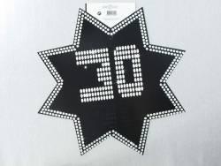 Découpe étoile VIP - 30ans