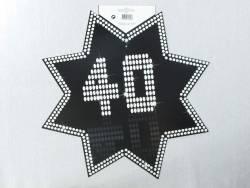 Découpe étoile VIP - 40ans