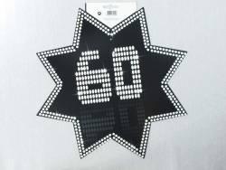 Découpe étoile VIP - 60ans