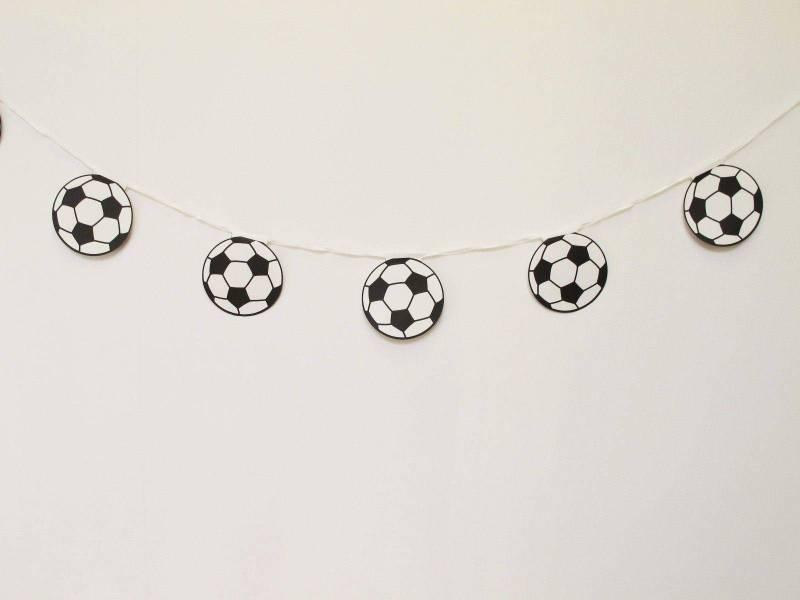 Guirlande ballon de foot