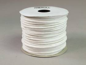 Cordon laitonné papier - Blanc