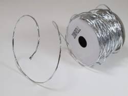 Cordon laitonné métal - Argent