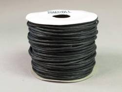 Cordon laitonné papier - Noir