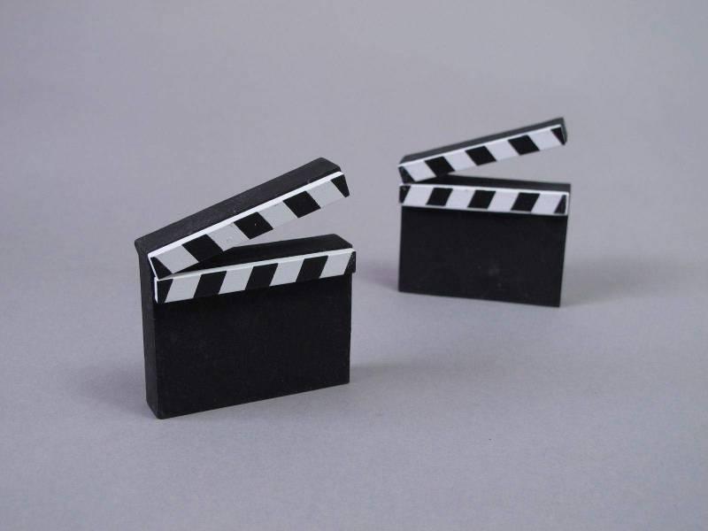 Marque place cinéma - Noir