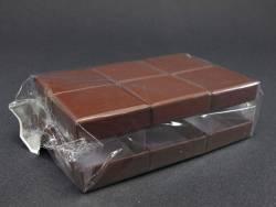 Boite à dragées cube - Chocolat