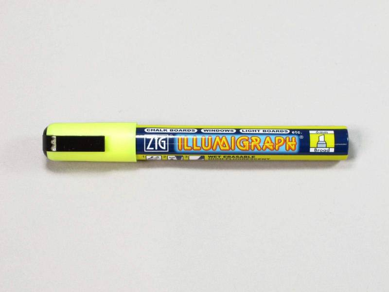 Feutre fluorescent Illumigraph - Jaune