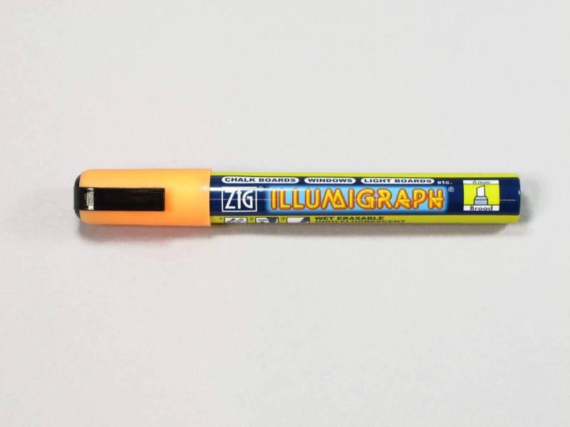 Feutre fluorescent Illumigraph - Orange
