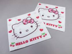 Serviette ouate 2 plis - Hello Kitty