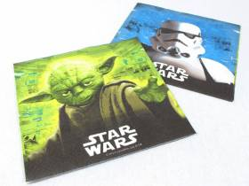 Serviette ouate 2 plis - Star Wars