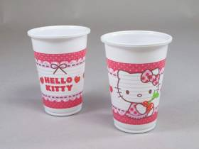 Gobelet plastique - Hello Kitty