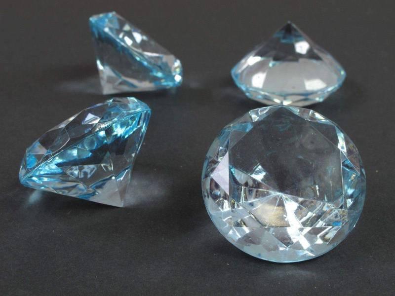 Diamant grand modèle - turquoise