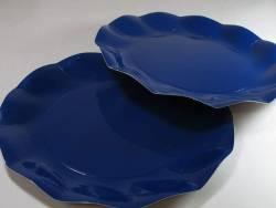 Assiette carton - Bleu Nuit 27cm