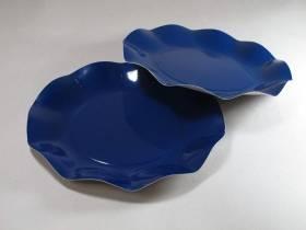Assiette carton - Bleu Nuit 21cm