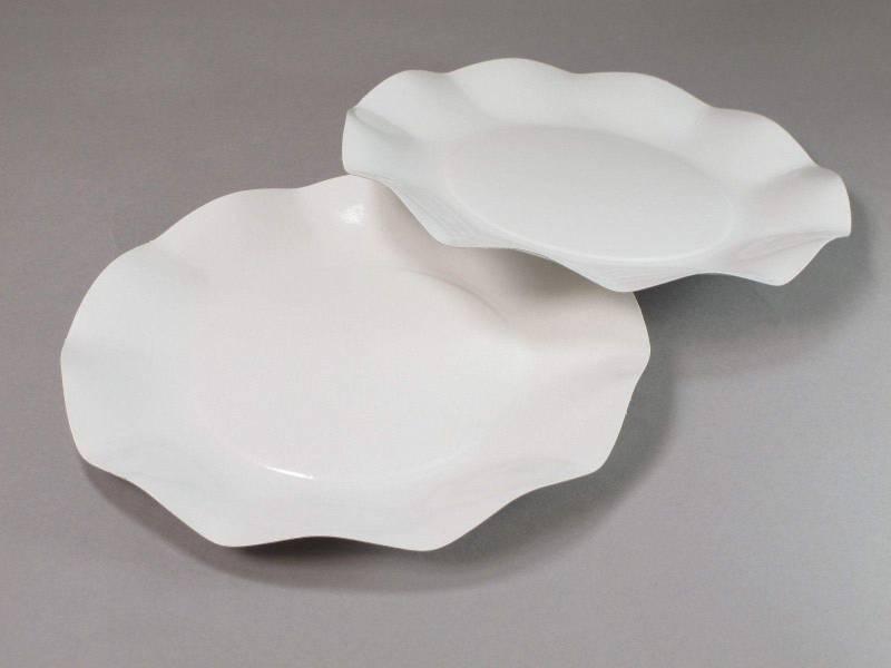 Assiette carton - Blanc 21cm